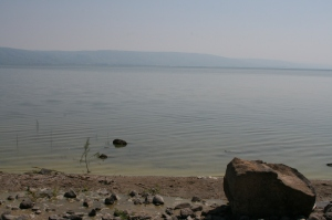 Sea of Galilee at Primacy Beach